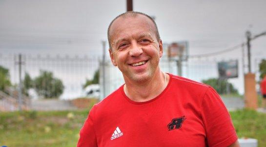Скабелка пробежал 8 км в омской «Птичьей гавани»