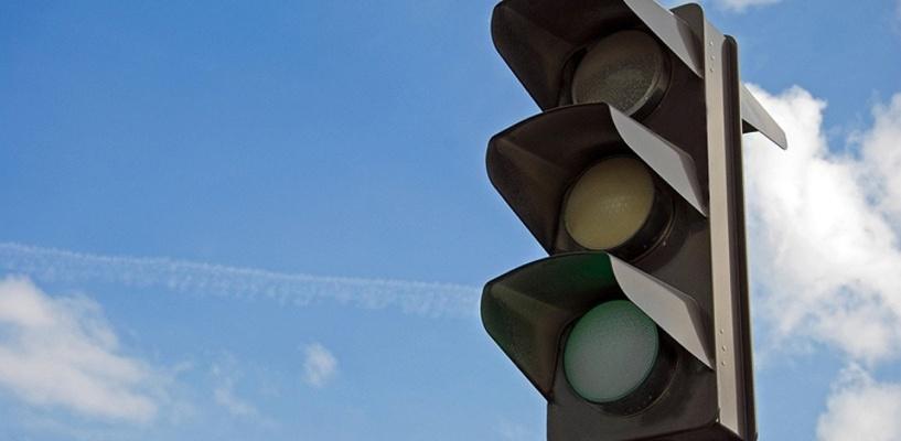 В Омске на левом берегу 3 дня не будет работать светофор