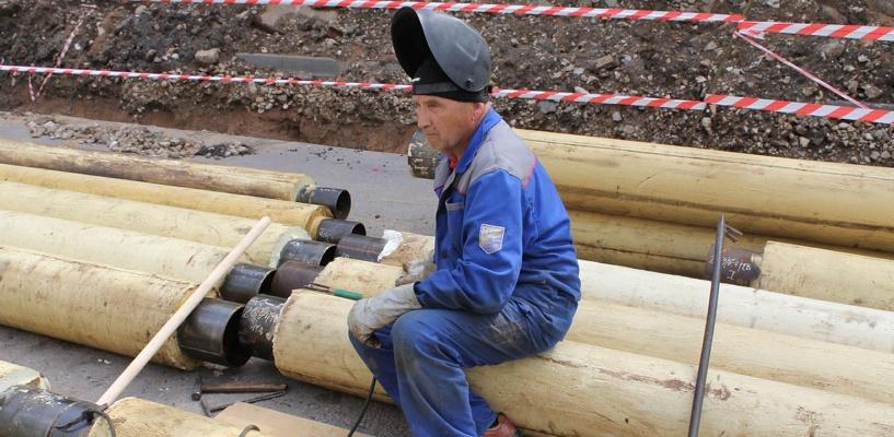 В Омске из-за ремонта тепловых сетей на полтора месяца закроют улицу Тарская