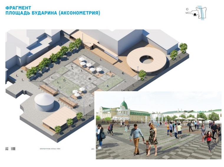На площади Бударина может появиться экстрим-парк «Яма»