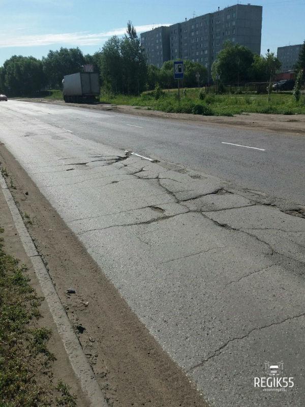 «Кривую» разметку нанесли на 9 омских улицах