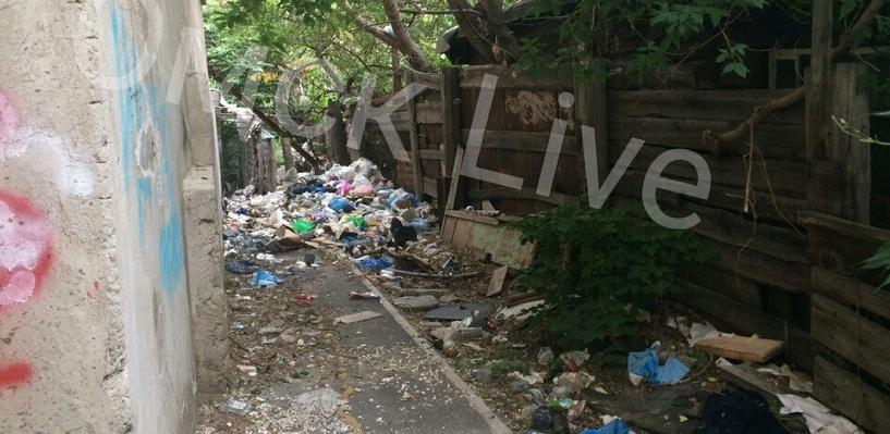 Окрестности элитных домов в Омске завалены мусором - ФОТО