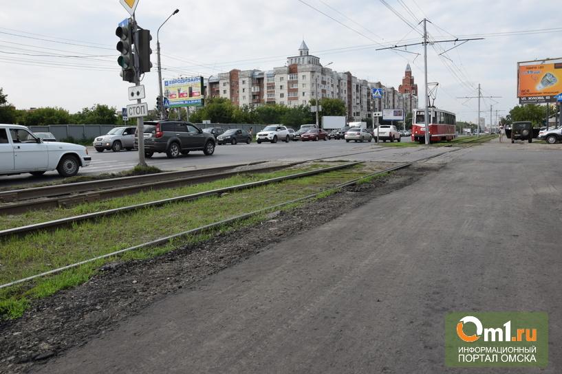 В Омске отремонтировали дорогу на Жукова, где весной плавал байдарочник