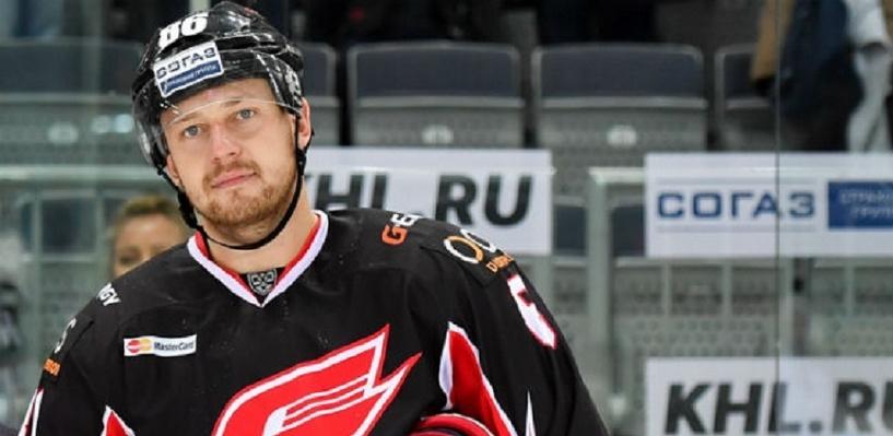 Защитник Никитин отказался продолжать карьеру в «Авангарде»