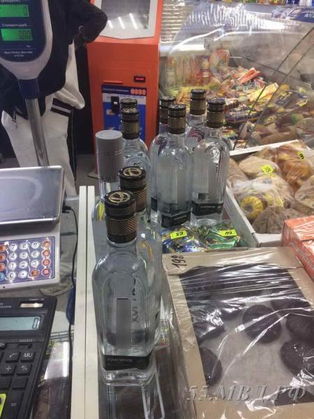 Омичи продолжают незаконно торговать водкой