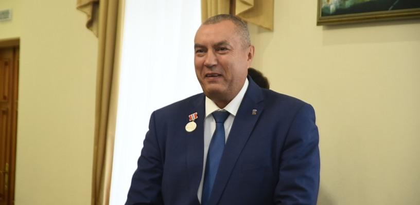 Фролов дал первое интервью в качестве мэра Омска