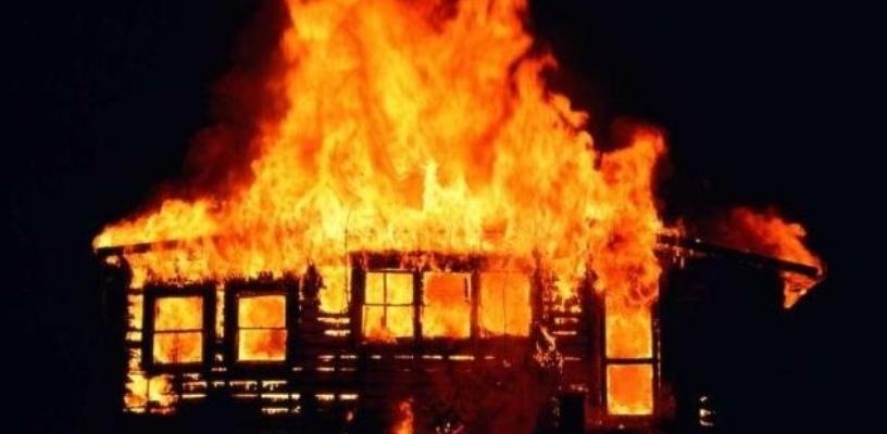 В Омской области женщина сгорела заживо
