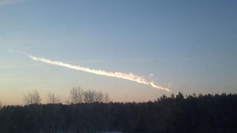 Над Уралом пролетел крупный метеорит. Его сняли на видео