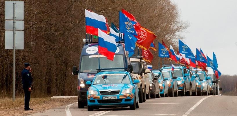 Международный пробег ДОСААФ России пройдет через Омск