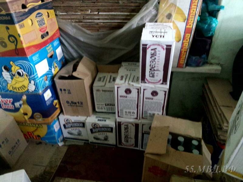 Полиция хотела купить на Ленинском рынке 2 ящика водки