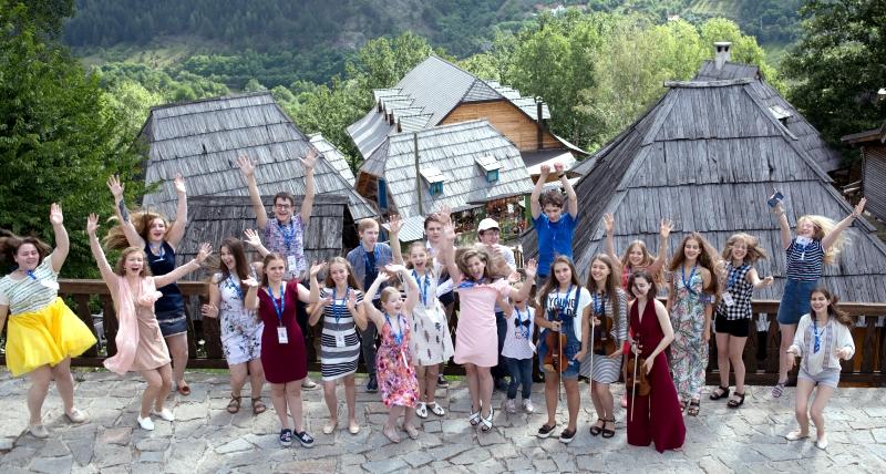 Молодые омичи показывают свои таланты на Родине Кустурицы