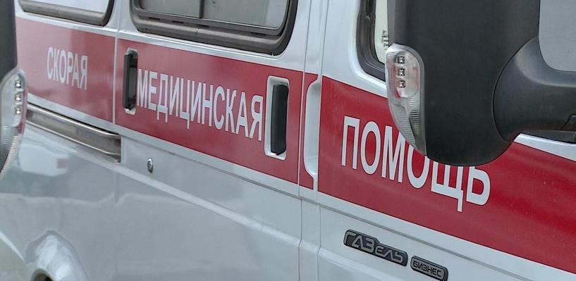 Ночью в Омске врезался в иномарку