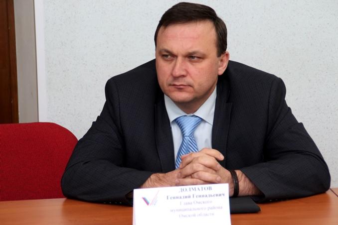 Главу Омского района Долматова оштрафовали за медлительность