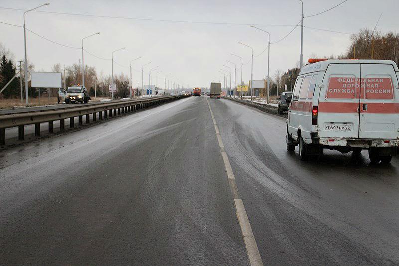 В Омской области построили 4 новых дороги