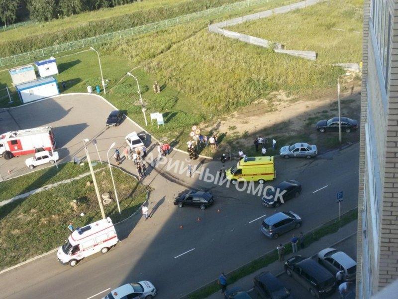 В аварии на Левом берегу пострадали 7 человек