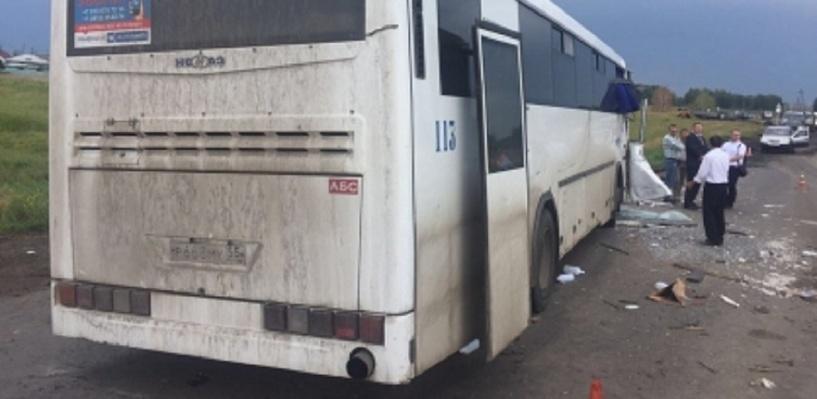 Из-за аварии с автобусом под Омском возбуждено уголовное дело