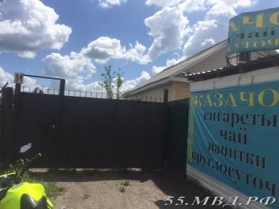 В Омске снова изъяли алкоголь из киоска с семенами