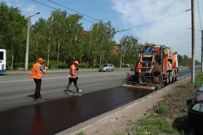 В Омске отремонтируют еще 13 дорог