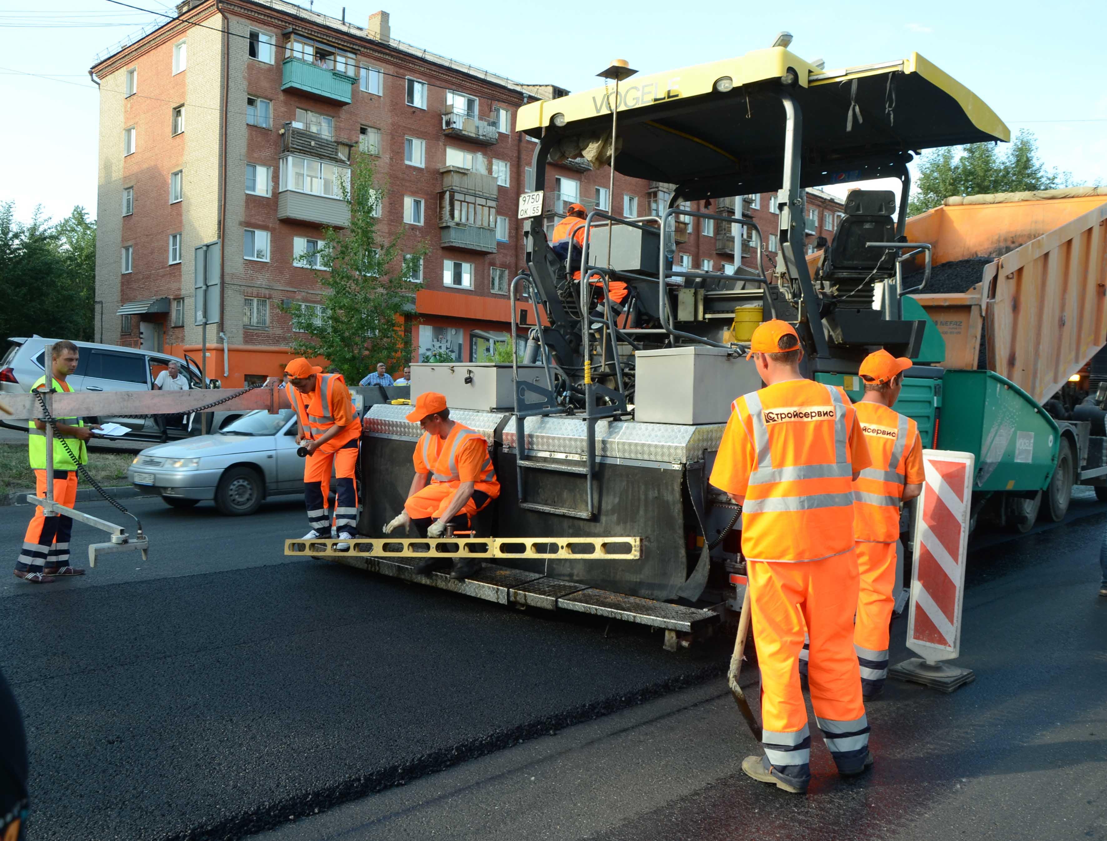 В Омске осталось отремонтировать одну дорогу