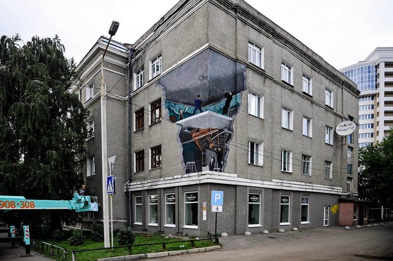 Стало известно, где в Омске появятся новые красочные граффити