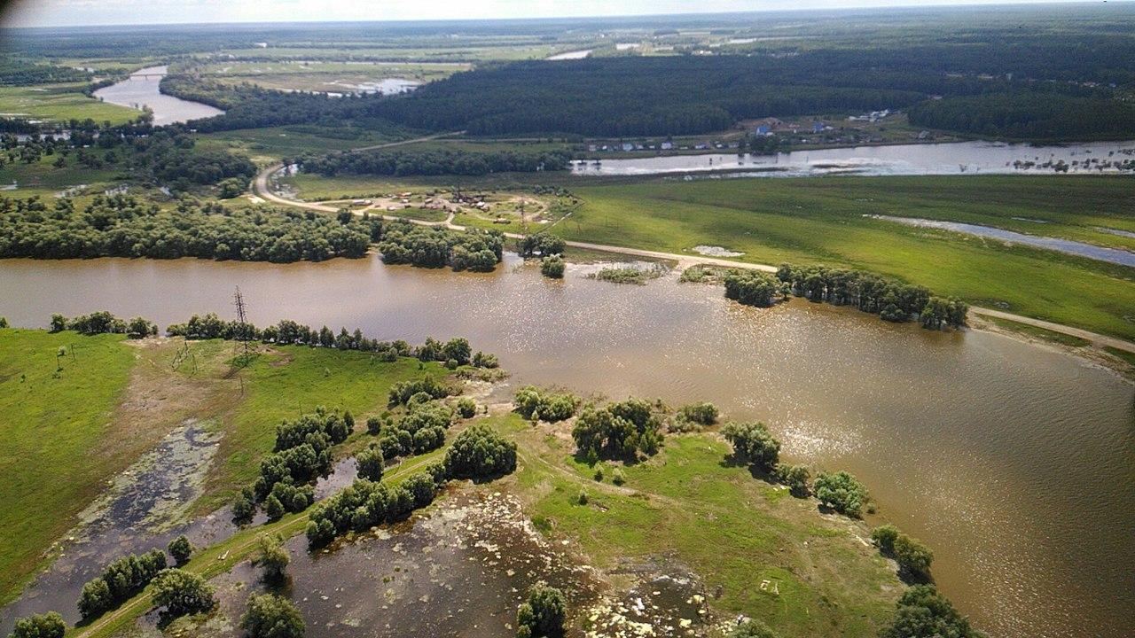 Омская область как на ладони: суперкадры с медицинского вертолета