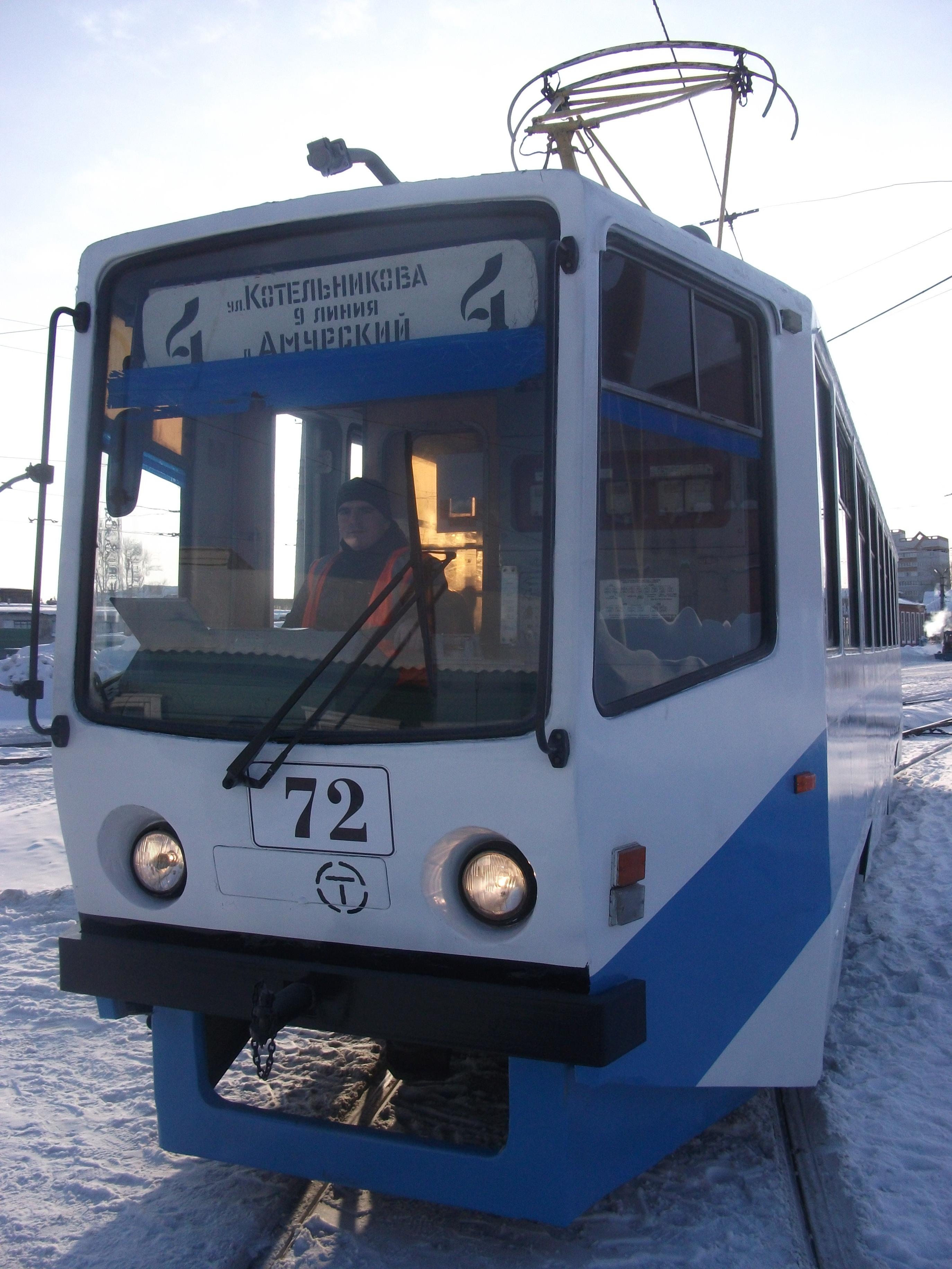 В День города по Омску будет ходить «Трамвай радости»