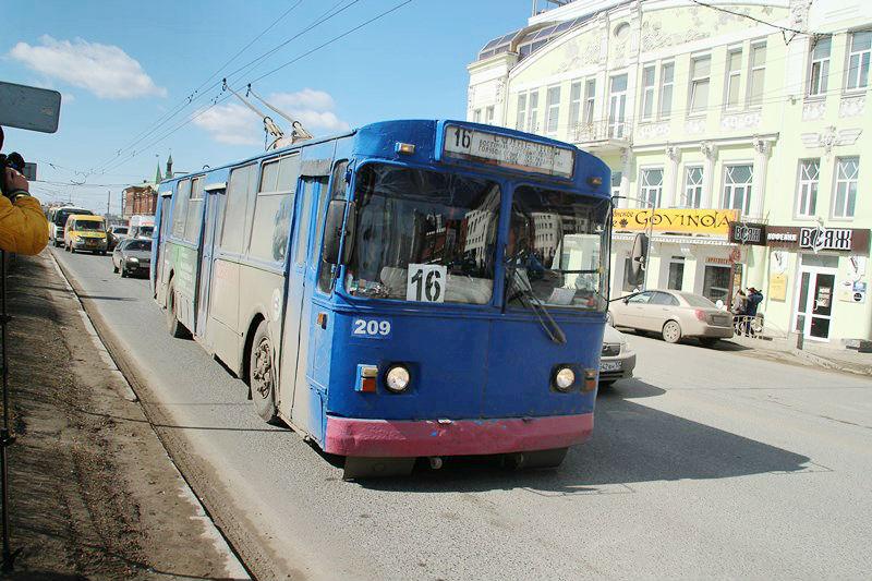 С 1 сентября троллейбусы будут ходить от остановки «Поселок Солнечный»