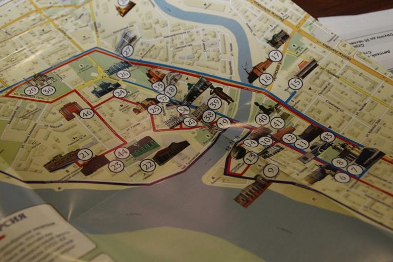 В Омске появится карта для туристов и экскурсионное бюро