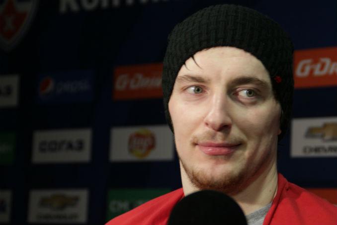 Калинин заявил, что в НХЛ ему не хватало русского мата