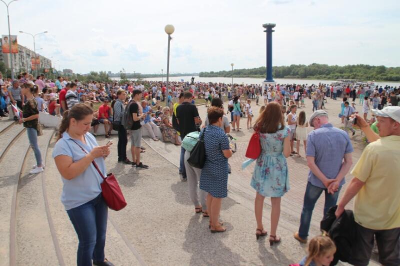 На День города в Омске пришли 116 тысяч человек