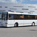 Водители автобусов устроили дрифт у «Арены Омск»