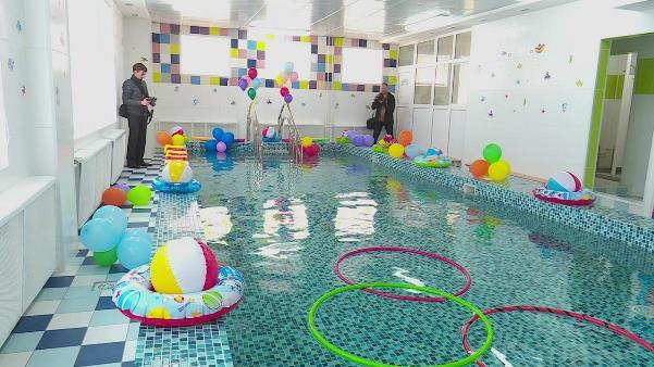 В омском садике открылся бассейн