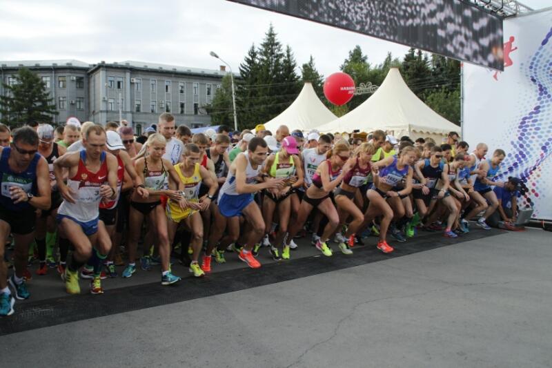 На XXVIII Сибирском международном марафоне стартовало более 5 500 участников