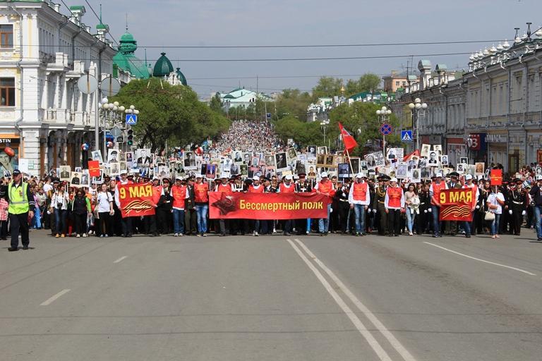 Омск: удивительная история плаката с «Бессмертного полка»
