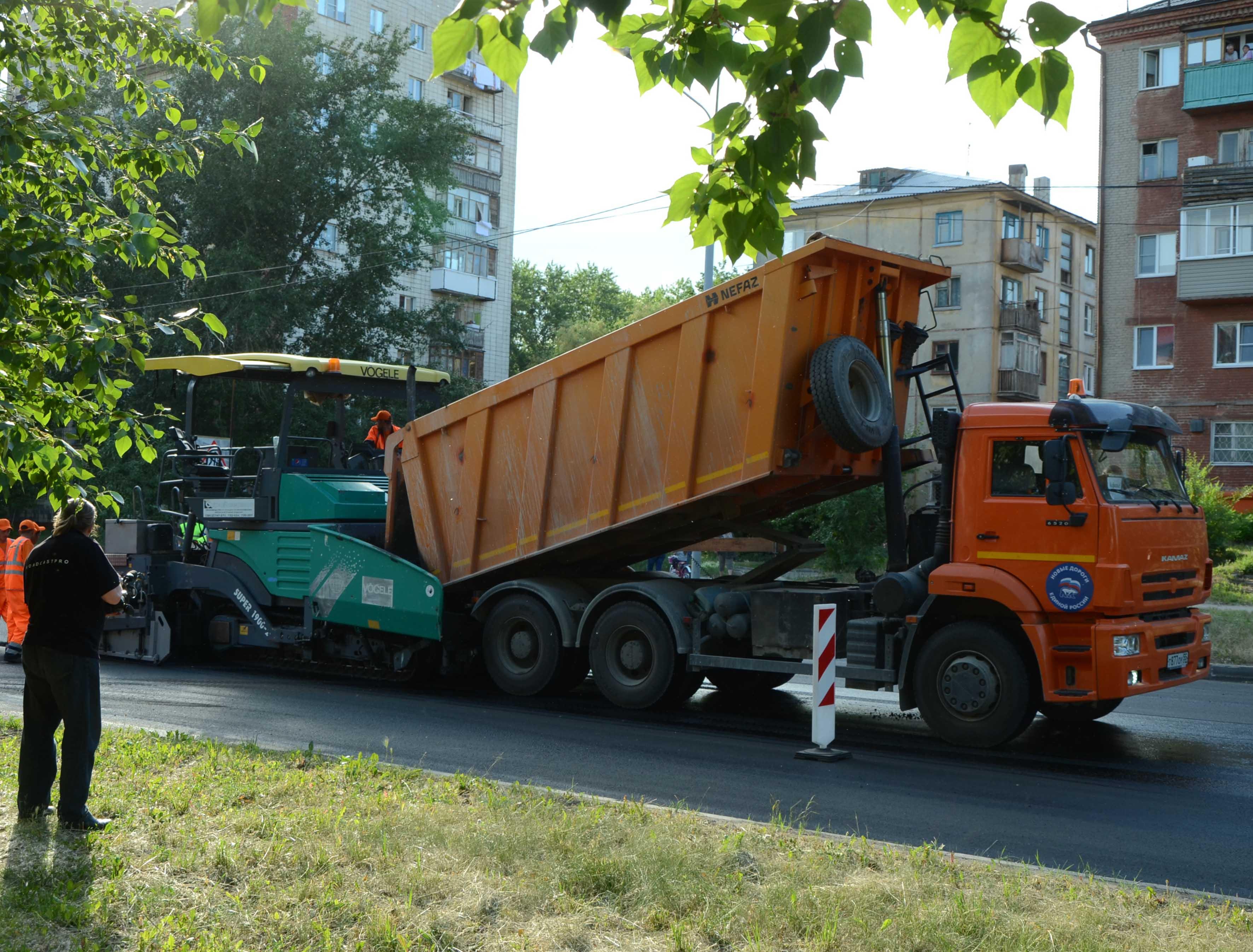 В Омске до выборов в горсовет отремонтируют еще 16 дорог