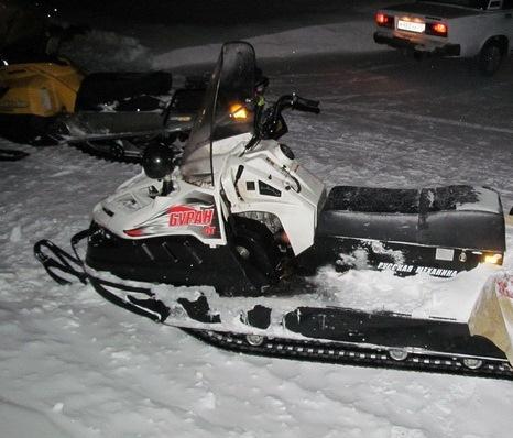 Омские егеря получат новенькие снегоходы