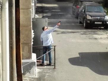 Стрельбу в центре Омска устроил бизнесмен