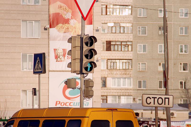 На Красном Пути в Омске отключили светофор
