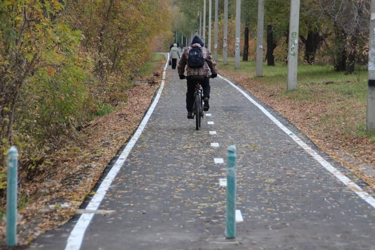 В Омске подростки украли велосипед и сделали ему «тюнинг»