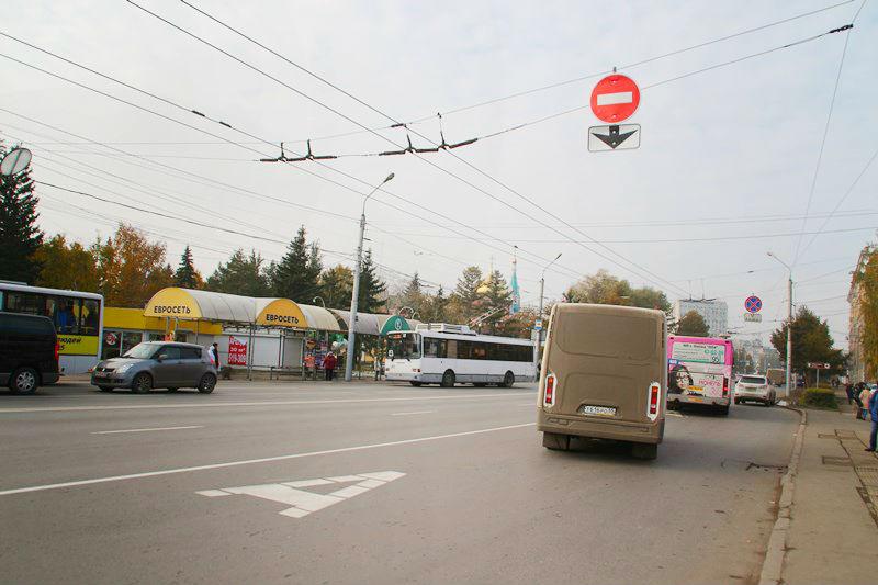 Выделенные полосы хотят сделать на Красном Пути и Мира