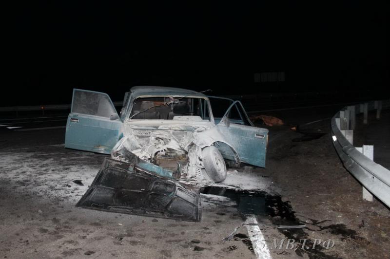 На трассе Тюмень – Омск водитель ВАЗа-2105 не уступил дорогу «Мерседесу», и погиб