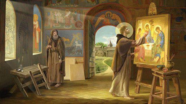Богатый выбор икон и историй жизни святых