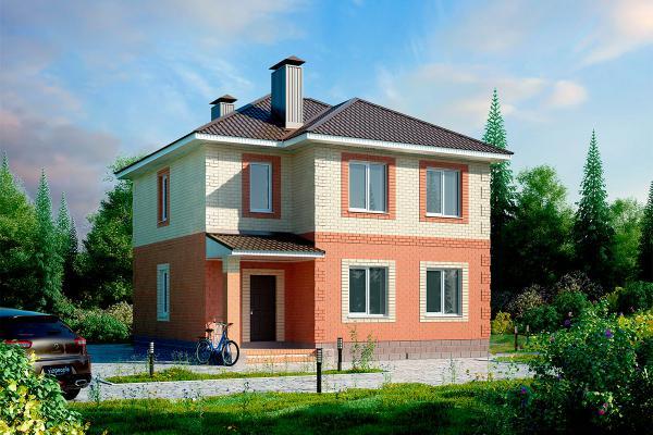 Коттедж или загородный дом по индивидуальному проекту