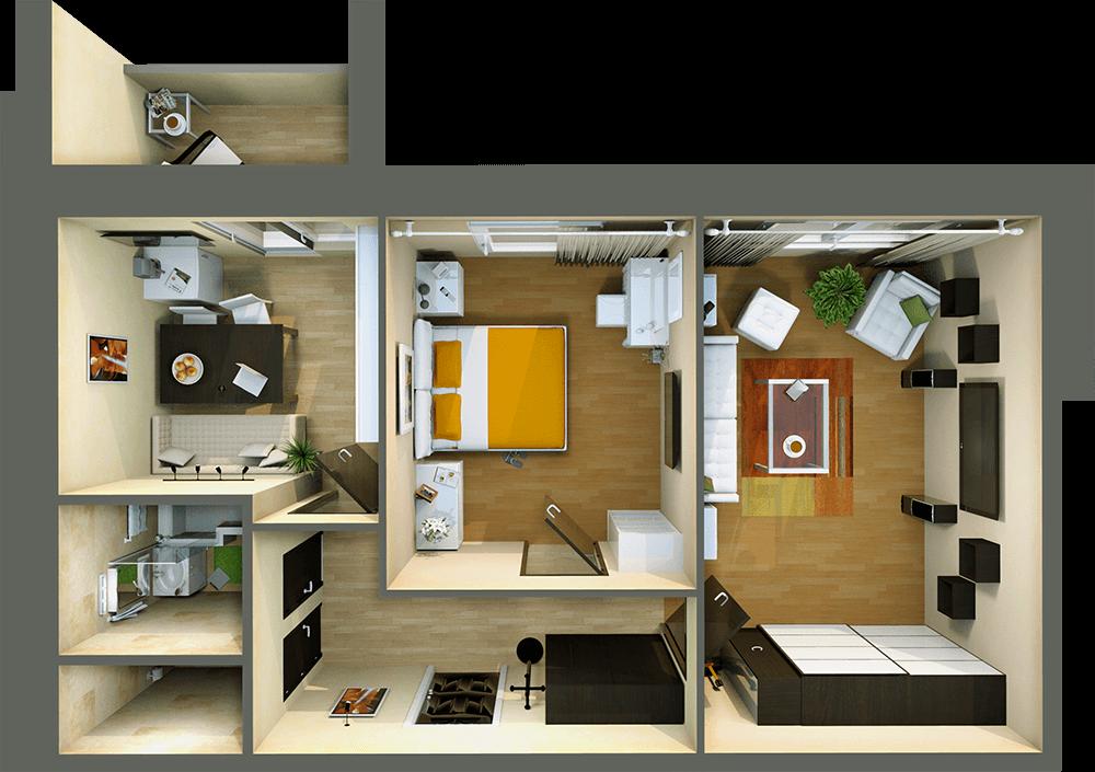 Отличное жилье для вашей семьи