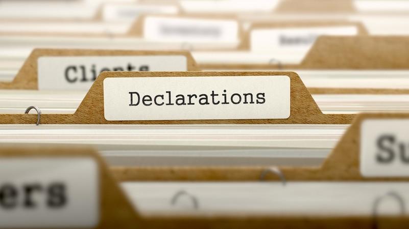 Всё о декларировании