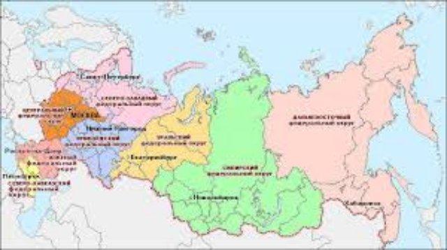 Интерактивная карта Южного округа России