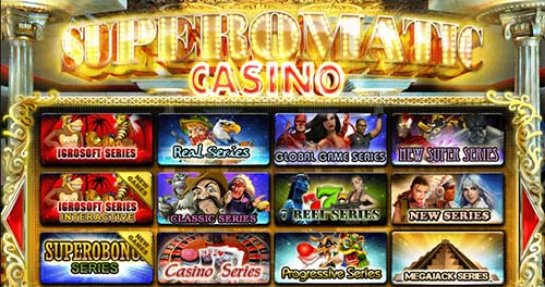Cупероматик казино: прибыль для всех