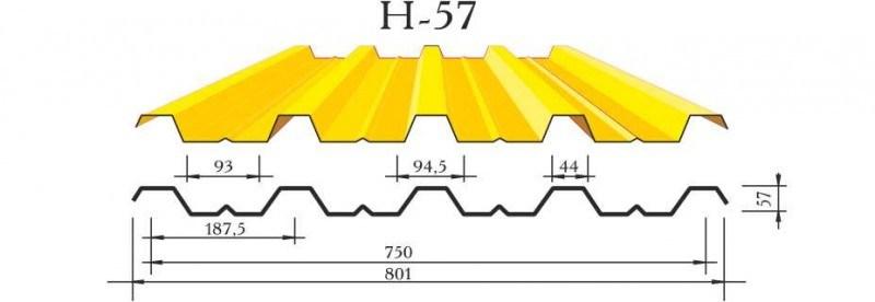 Профнастил Н57: ваш лучший выбор материала от производителя
