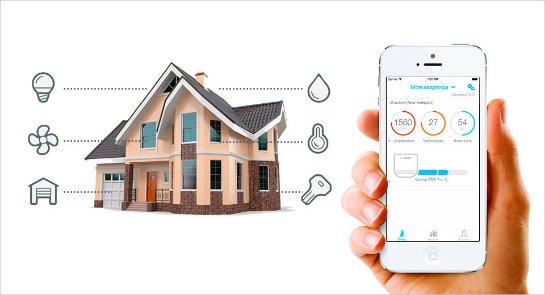 Разработка и монтаж системы умный дом от компании