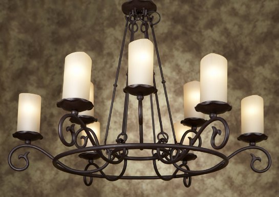 Люстры свечи различной конструкций на splendid-ray.ua